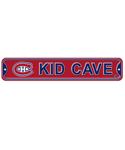 BULLETIN MONTREAL CANADIENS KID CAVE SIGN