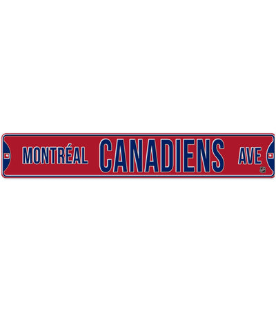 BULLETIN MONTREAL CANADIENS STREET SIGN