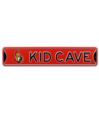 BULLETIN OTTAWA SENATORS KID CAVE SIGN