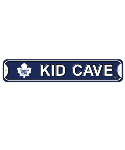 BULLETIN TORONTO MAPLE LEAFS KID CAVE SIGN