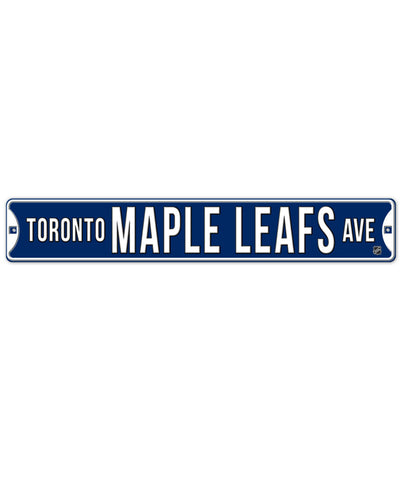 BULLETIN TORONTO MAPLE LEAFS STREET SIGN