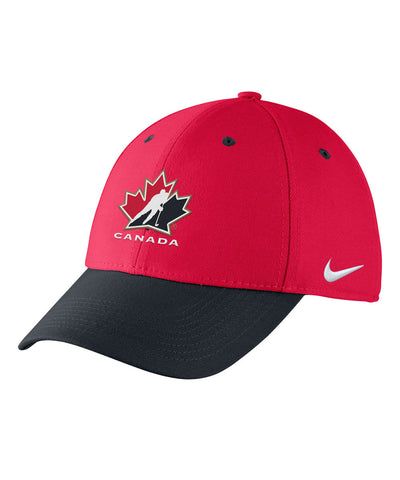NIKE TEAM CANADA TWO TONE FLEX YTH CAP
