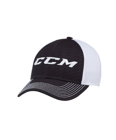 CCM MESH KIDS FLEX HAT BLACK