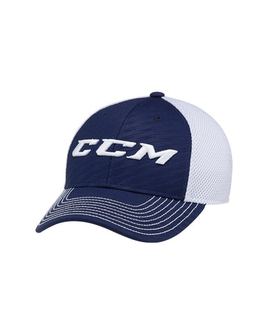 CCM MESH KIDS FLEX HAT NAVY