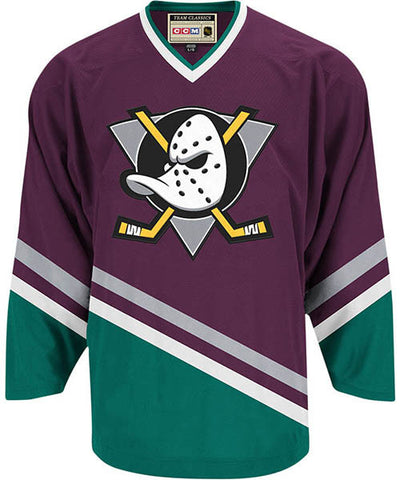 CCM CLASSIC ANAHEIM MIGHTY DUCKS SR JERSEY