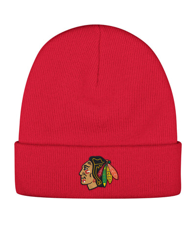 CCM CHICAGO BLACKHAWKS BASIC LOGO SR BEANIE