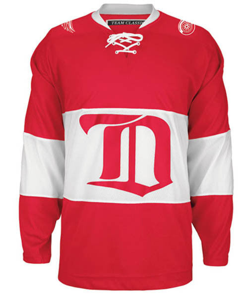 e8b0b227e CCM DETROIT RED WINGS 1926-27 VINTAGE MEN'S JERSEY – Pro Hockey Life