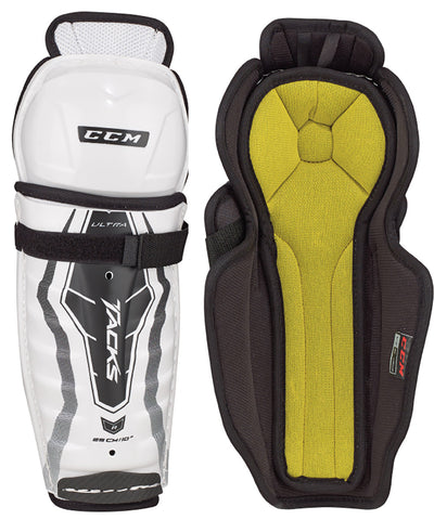 CCM ULTRA TACKS YOUTH HOCKEY SHIN GUARDS