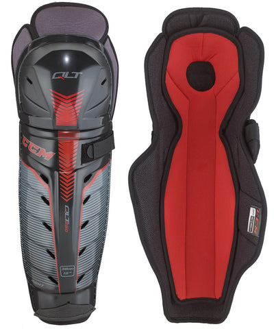 CCM QUICKLITE 250 SR HOCKEY SHIN GUARDS