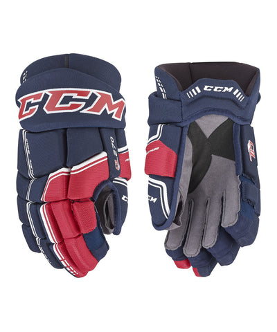 CCM QUICKLITE 270 JUNIOR HOCKEY GLOVES