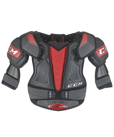 CCM QUICKLITE JUNIOR HOCKEY SHOULDER PADS
