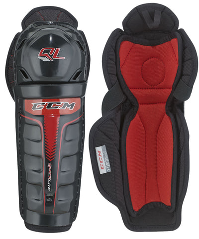 CCM QUICKLITE YTH HOCKEY SHIN GUARDS
