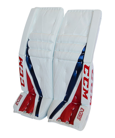 CCM EXTREME FLEX III LIMITED EDITION PRICE SR GOALIE PADS