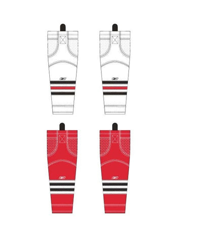 REEBOK EDGE CHICAGO INT HOCKEY SOCKS