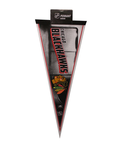 CHICAGO BLACKHAWKS FELT PENNANT