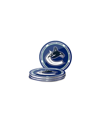 VANCOUVER CANUCKS 4PK PVC COASTER SET