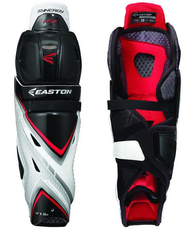 EASTON SYNERGY HSX SR HOCKEY SHIN GUARDS