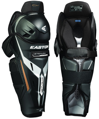 EASTON STEALTH CX SR HOCKEY SHIN GUARDS