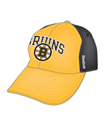 8bcca050b41 REEBOK BOSTON BRUINS ADJUSTABLE SLOUCH SR CAP
