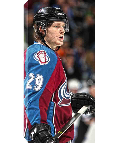 FRAMEWORTH CANVAS COLORADO AVALANCHE NATHAN MACKINNON