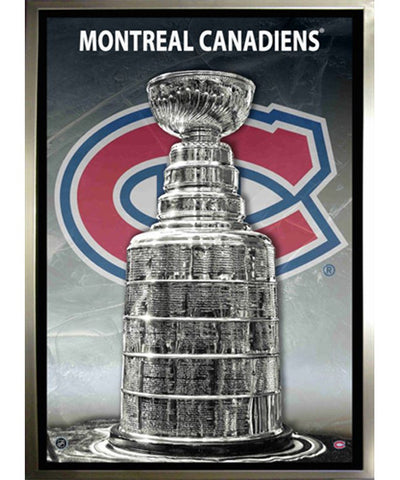 FRAMEWORTH CANVAS MONTREAL CANADIENS STANLEY CUP