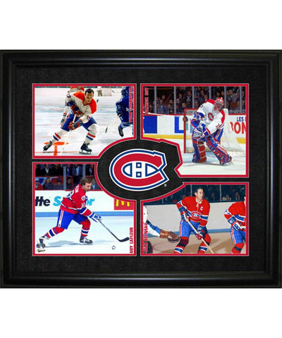 FRAMEWORTH HHOF 4-PLAYER MONTREAL CANADIENS FRAME