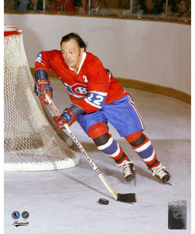 FRAMEWORTH HHOF MONTREAL CANADIENS YVAN COURNOYER PHOTO
