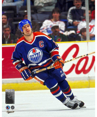 FRAMEWORTH HHOF EDMONTON OILERS MARK MESSIER PHOTO