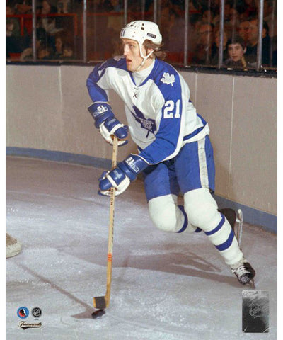 FRAMEWORTH HHOF TORONTO MAPLE LEAFS BORJE SALMING PHOTO