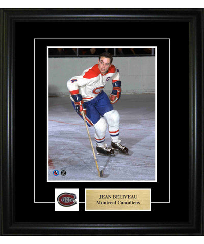 FRAMEWORTH PIN & PLATE MONTREAL CANADIENS BELIVEAU FRAME