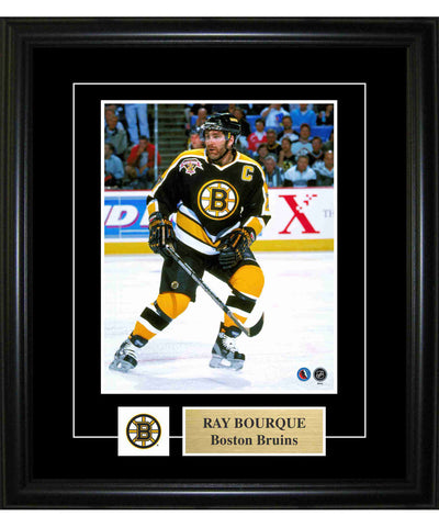FRAMEWORTH PIN & PLATE BOSTON BRUINS BOURQUE FRAME