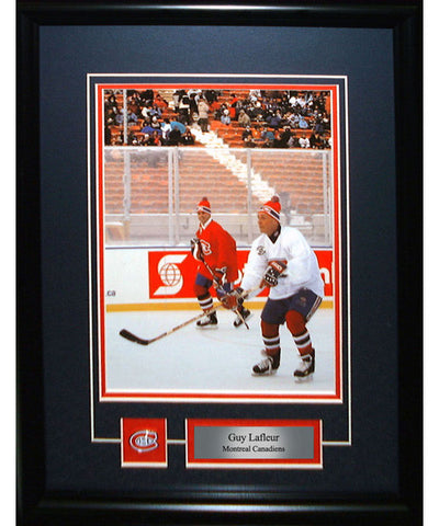 FRAMEWORTH PIN & PLATE MONTREAL CANADIENS LAFLEUR FRAME