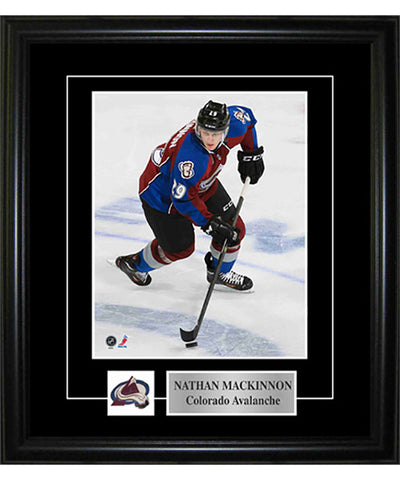 FRAMEWORTH PIN & PLATE COLORADO AVALANCHE MACKINNON FRAME