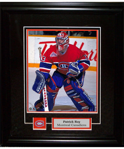 FRAMEWORTH PIN & PLATE MONTREAL CANADIENS ROY FRAME