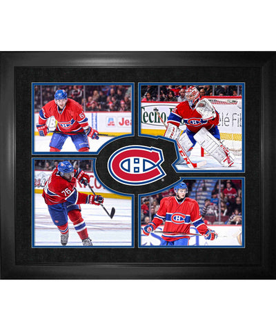 FRAMEWORTH TEAM COLLAGE MONTREAL CANADIENS FRAME