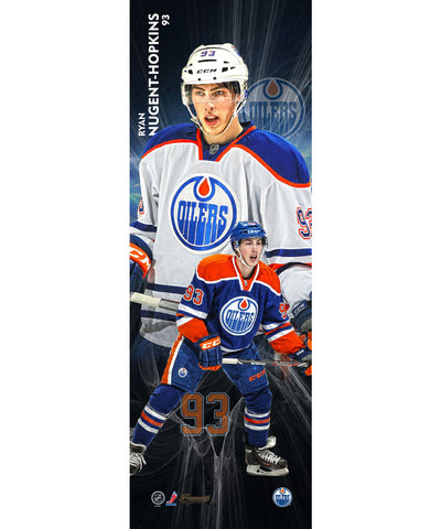 FRAMEWORTH VERTICAL PLAYER EDMONTON OILERS NUGENT-HOPKINS PLAQUE