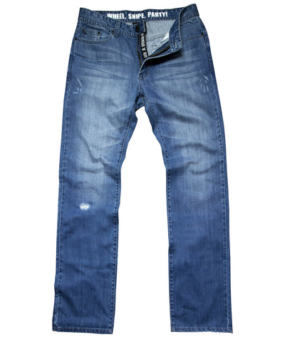 GONGSHOW HOCKEY LEGS MEDIUM WASH MEN'S JEANS