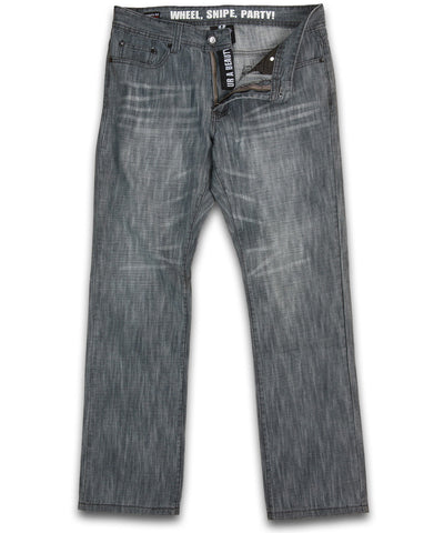 GONGSHOW BEAUTY FIT GREY SR JEANS