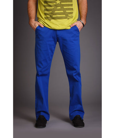 GONGSHOW BLACK JOHNNY STYLE LIGHT BLUE MEN'S PANTS