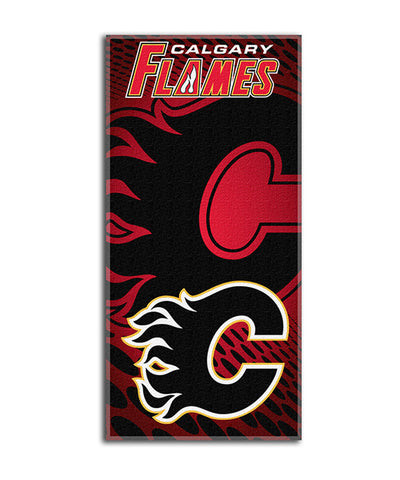 "CALGARY FLAMES 30"" X 60"" BEACH TOWEL"