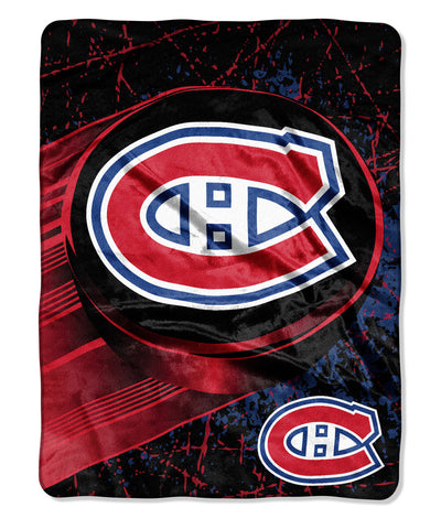 GROSNOR MONTREAL CANADIENS RASCHEL THROW