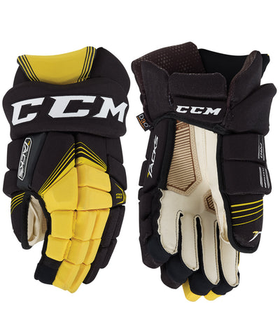 CCM SUPER TACKS JR HOCKEY GLOVES