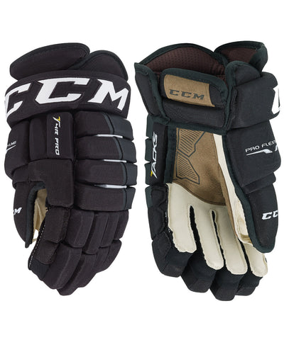 2017 CCM TACKS 4R PRO SENIOR HOCKEY GLOVES