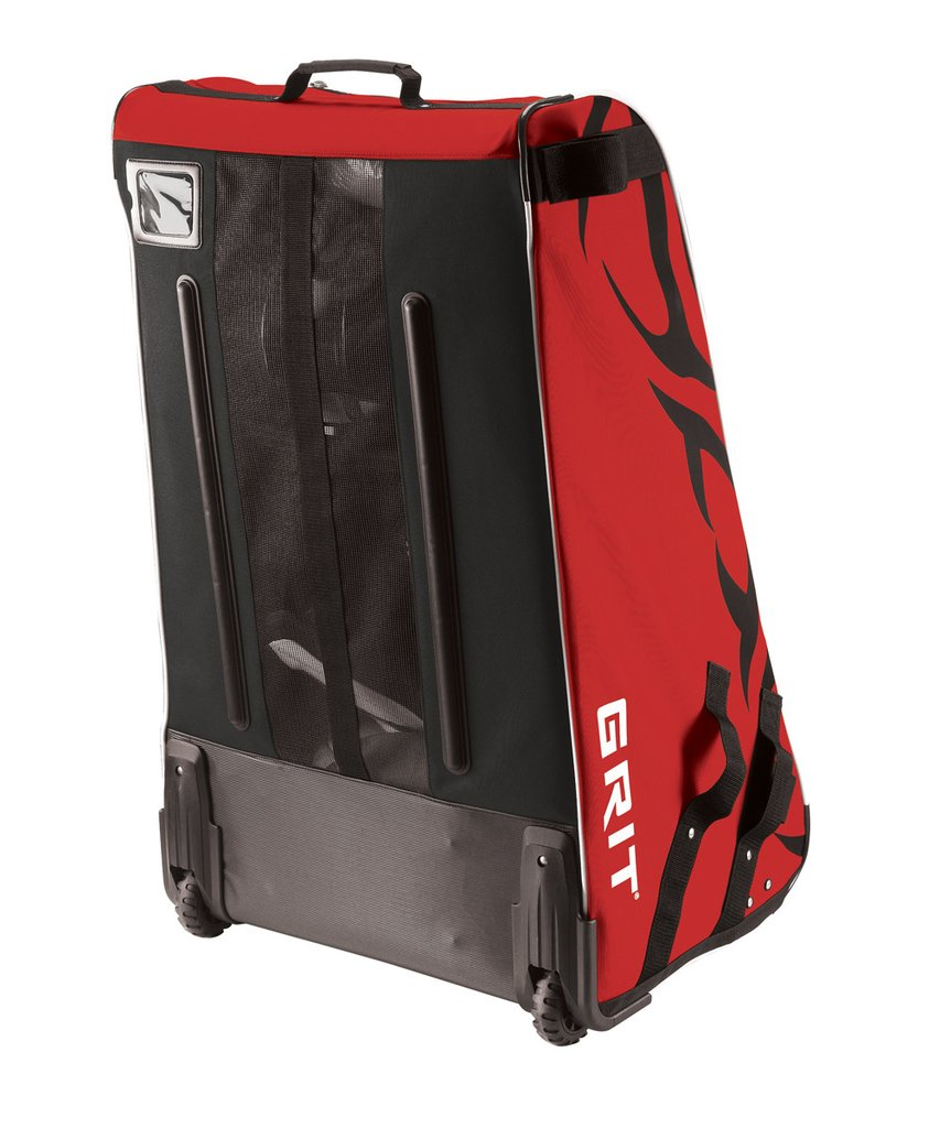 """Details about  /Grit Inc HTFX Hockey Tower 33/"""" Wheeled Equipment Bag Black"""