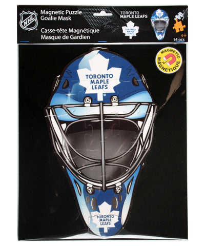 TORONTO MAPLE LEAFS MAGNETIC GOALIE MASK PUZZLE