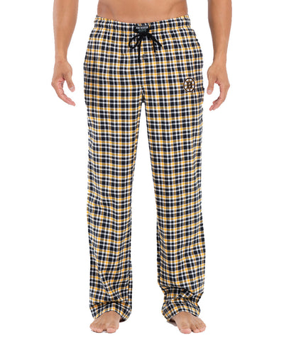 JOE BOXER BOSTON BRUINS FLANNEL LOUNGE PANTS