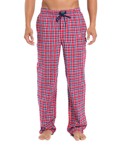 JOE BOXER MONTREAL CANADIENS FLANNEL LOUNGE PANTS