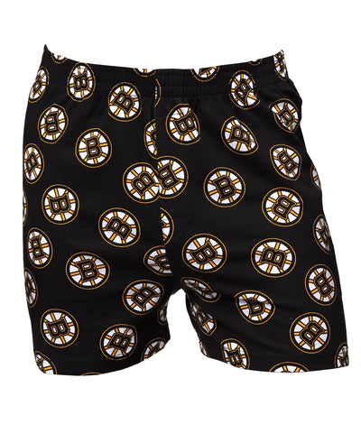 JOE BOXER BOSTON BRUINS HOCKEY PUCK BOXERS
