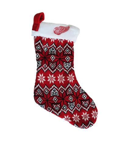 DETROIT RED WINGS AZTEC STOCKING
