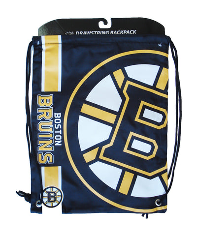 BOSTON BRUINS DRAWSTRING LOGO BAG